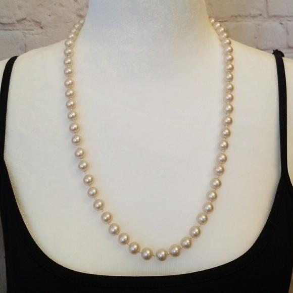 Richelieu Jewelry Single Strand Faux Pearl Necklace Poshmark